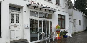 Warenautomat im Eiscafé Dante Hamburg-Nienstedten
