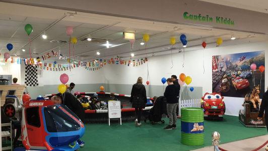 Eröffnung Eltern-Kind Kartbahn Nedderfeld Center