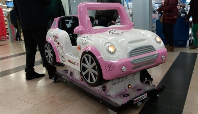 Hallo Katze Auto Kiddie Ride