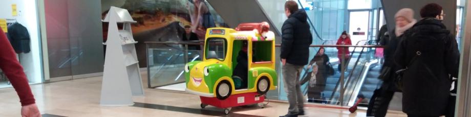 Aufstellung von Kiddie Rides von Flensburg bis Hannover und von Bremen bis Rostock